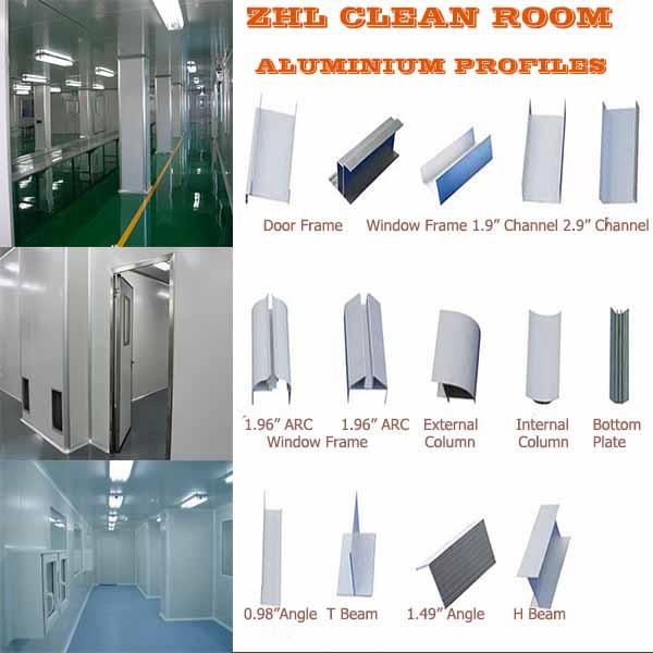 Hot! Industrial Aluminium Profiles For Clean Room/aluminum Window ...