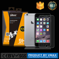 Anti-glare Anti-bubble 0.26mm 2.5D japanese asahi tempered glass screen protector film for IPHONE 6S