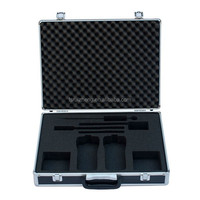 Sell aluminum tool case with customized foam with 2mm eva as inner lining RZ-ST-073