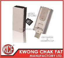 KCF-165 Rechargeable Electronic USB cigarette lighter usb flash drive