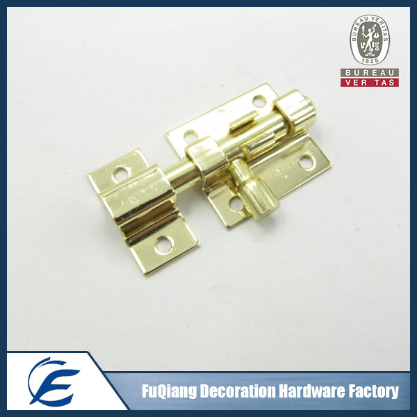 Tower bolt factory glass door latch