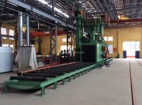 2015 Newest H Beam Steel Structure Shot Blasting Machine Made by XDL BLASTING