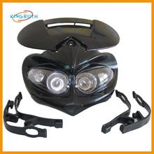 Latest Hot Sale pitbike or dirt bike angel eyes motorcycle headlights