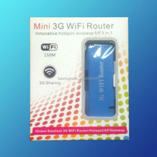 CDMA/ EVDO Wifi Router Mini Pocket Portable 3g Wifi Router