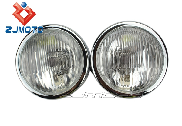 Chrome Dual 4 Headlights Ducati Monster 400/600/620/695
