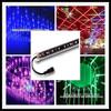 DMX RGB starfall light,both sided led meteor light stick,3D effects