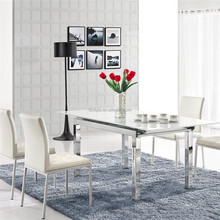L806E-1 Hot Sale High Quality Restaurant Table Chair, Extendable Dining Table and Chair