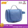 Waterproof double handles travel hanging cosmetics bag case makeup bag case organizer toiletry bag