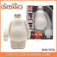 2015 popular top quality hero 6 baymax vinyl baymax toys with IC