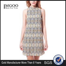 MGOO Hot Selling Cheap Price Black Cotton Casual Coocktail Dress Wholesale Turkey Istanbul Resort Wear 2003B