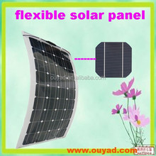 flexible solar panel100w for wholesale and retailers