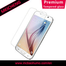 anti shock screen protective film 0.2mm asahi tempered glass screen guard for samsung galaxy s6