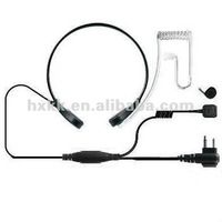 throat control microphone earpiece with 2 pin plug for VERTEX VX-210 VX-150 VX-246