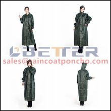 Hot selling waterproof fashion raincoat 2012