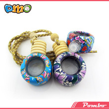 New style Popular !!! Handmade polymer clay beautiful hanging car bottle