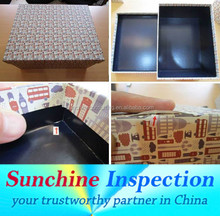 Inspection services for Gift Packaging in Wenzhou, Ningbo, Yuyao - Quality Control Services in Zhejiang