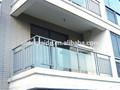 ( fabricante) euro al por mayor estilo artístico de aluminio vidrio balcón barandilla h-9011