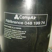 Compair compressor oil filter 04819974