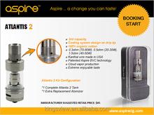 Venta al por mayor auténtico E-Zigarette aspire atlantis 2.0