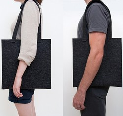 Factory best selling felt tote bag