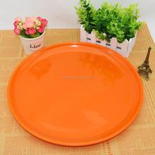 """Melamina articoli per la tavola piatto 14"""" colorato vassoio rotondo 35*2cm"""