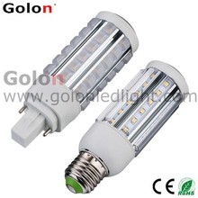 7W g24 led light 100-277vac replace pl 13w 6500k light 360 degree 11w 9w 5w g24q-1 led
