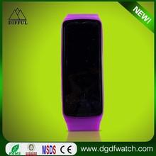 Edge environmentally friendly analog digital wrist watch led watch / watches men
