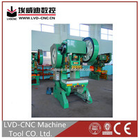 LVD-CNC high precision mechanical power press manual, hand operated power press