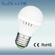 3w 5w 7w 9w 12w e27 b22 ce rohs 2015 3w led bulb lamp