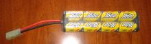 9.6V nimh rechargeable battery pack 1600MaH
