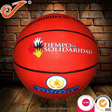 Customize size mini basketball,hot sale custom rubber basketballs