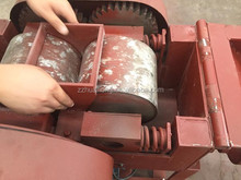 2012 hot small lab 2-roller crusher for sale/ Laboratory double roller crusher