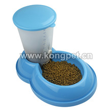 Combination drinking bowl/dog feeder WS002