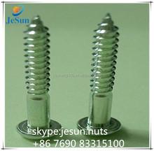 Dongguan Factory Direct sales flat head screw sharp bottom screw
