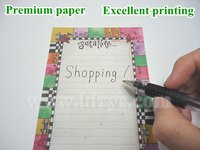 Manufacture directly memo magnetic note book shopping list