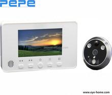 peephole digital door viewer camera,motion detect alarm door eye,doorbell wireless
