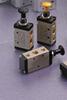 "2 way push button valve 1/4"" NPT manual pneumatic valve"