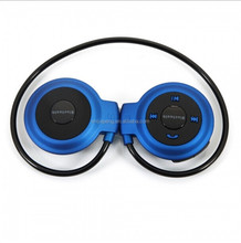 Stylish Stereo Wireless Headset Bluetooth Headphone With Mic Support TF Card FM Radio