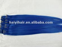 cool cat single metal clip colorful wholesale price hair extension