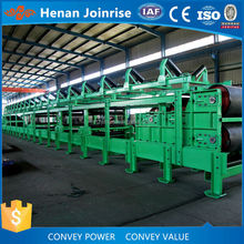 Gravity roller belt conveyor is flexible can retractable and expandable