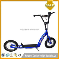12 Inch 300mm Kids New Design Wholesale BMX Blue Pro Push Scooter