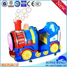 Amusement indoor children rides electric train