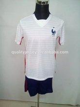 2015 recién llegado de número nombre del jersey de fútbol francia nación jersey venta al por mayor