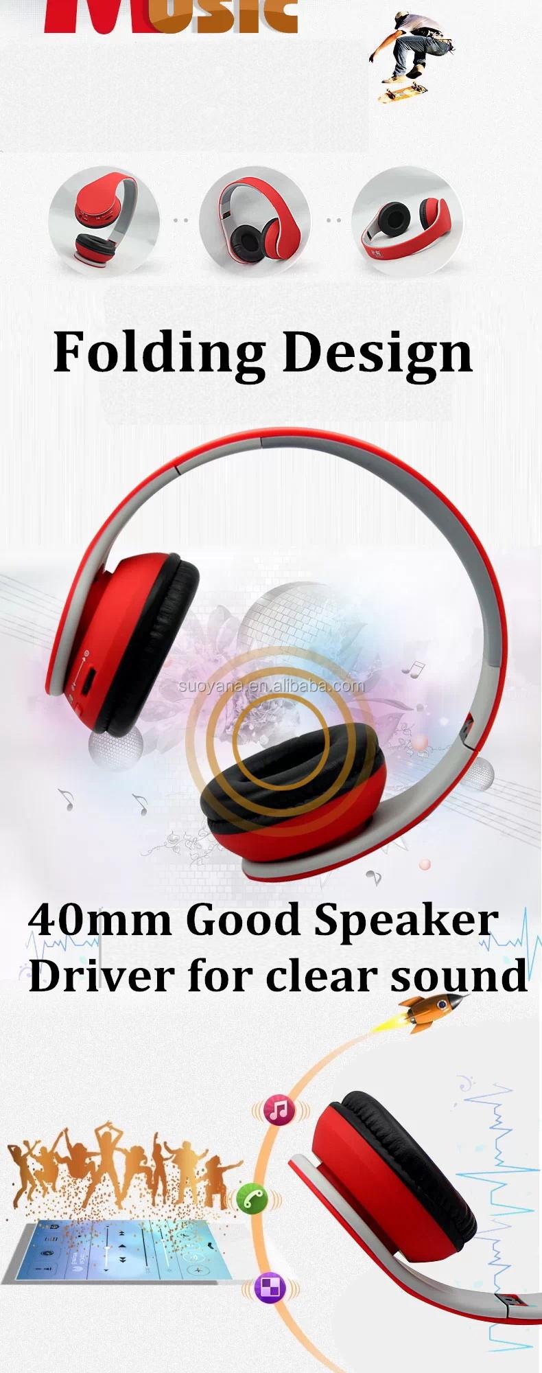 2015 New Style CSR 4.0 Wireless headphone Bluetooth Headset