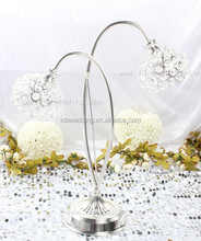 events lead supplies/wholesale silver candelabras centerpieces/silver plated wedding centerpieces