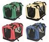 different color foldable pet carrier