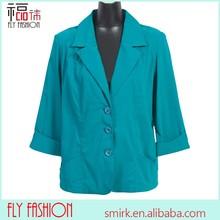 F177-GN# European clothes blue women casual suits Leisure suit for middle age women