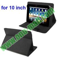 Universal Adjustable Leather Case for 10.1 inch Tablet PC