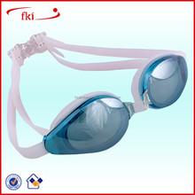 Fashion Design 100% UV Protection Anti-fog Swimming Goggles