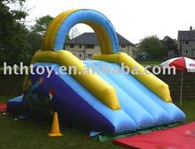 PVC Summer Simple jumping castles inflatable water slide
